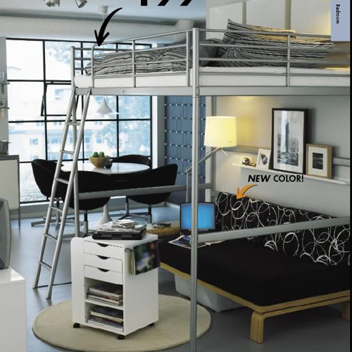 bunk bed couch ikea schrankwand mit klappbett wohnideen fr praktische hochbett fr erwachsene. Black Bedroom Furniture Sets. Home Design Ideas